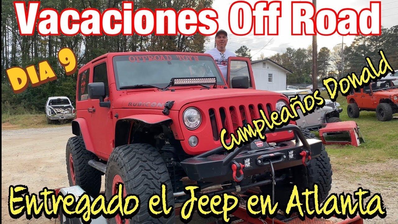 Vacaciones Off Road en New Mexico Dia 9- La entrega y cumpleaños by Waldys Off Road