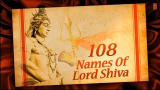 108 Names of Lord Shiva By Anuradha Paudwal  with Hindi, English Lyrics I Lyrical Video