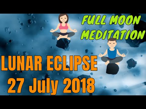 new moon meditation 13 July (NO FEAR - 104 min for solar/lunar eclipse)