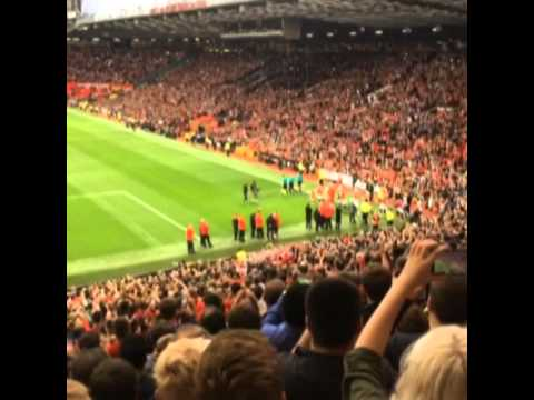 REUNITED 2014: Van Gaal's Reception to his first game at Old Trafford