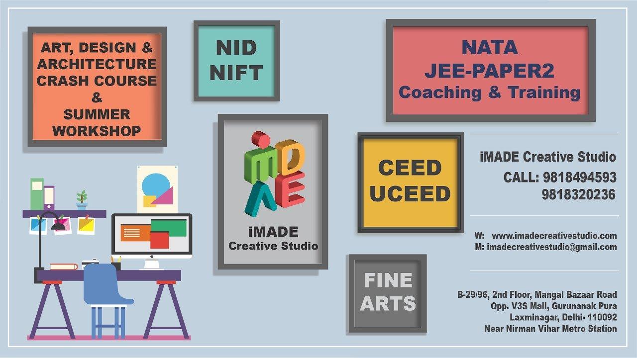 Design Architecture And Fine Arts Education In India Presented By IMADE Creative Studio