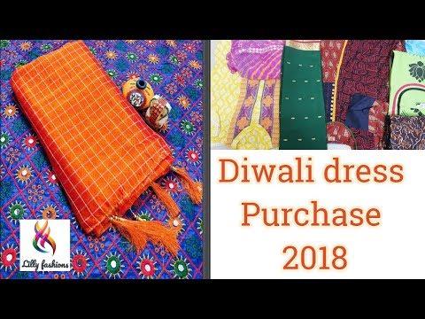 Diwali Purchase 2018 |Soft silk, Mysore Silk sarees, Kurthi