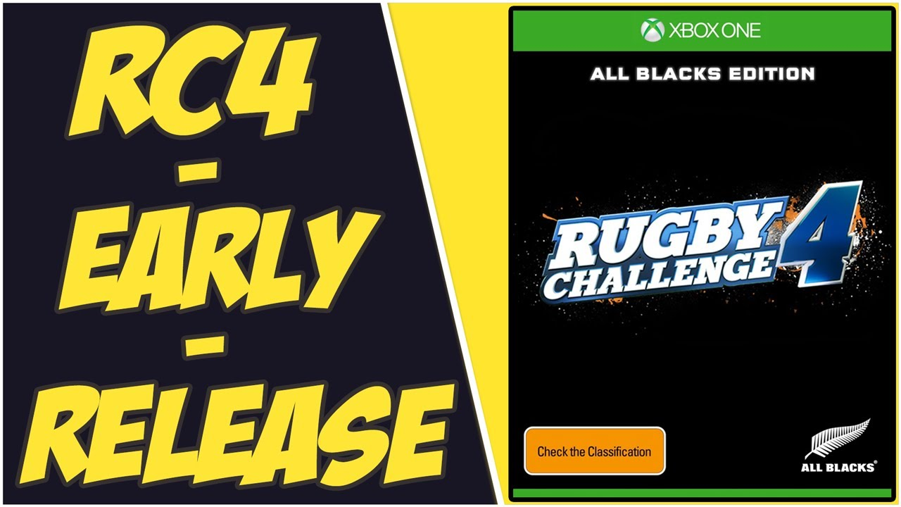"""Rugby Challenge 4 """"Early Access"""" Game Coming This Month! (Early Release for Rugby Challenge 4)"""