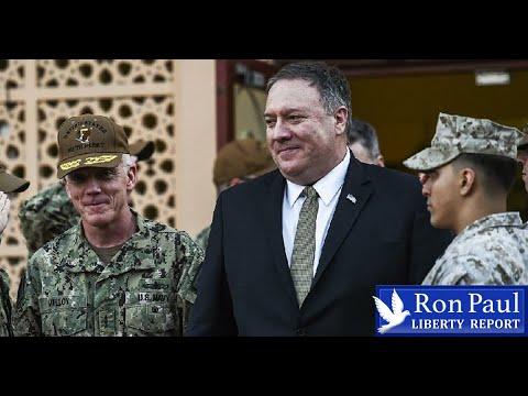 Pompeo At CENTCOM: Pushing 'Tactical Assault' On Iran?