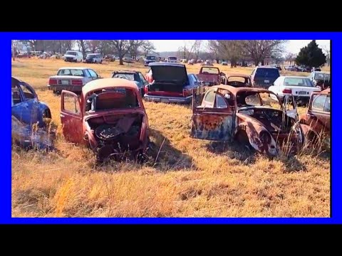 VW Bug Graveyard In Oklahoma
