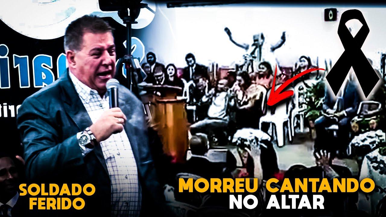 """Download Pastor Morre CANTANDO """"Soldado Ferido"""" em cima do Púlpito da igreja e emociona o BRASIL"""