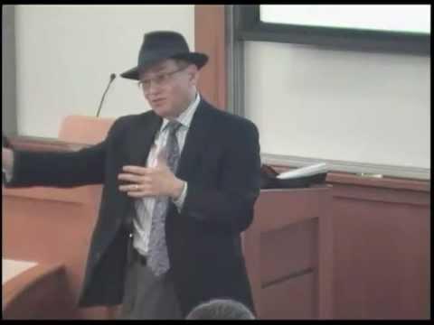 Richard Sandor at the Haas School of Business, University of California Berkeley