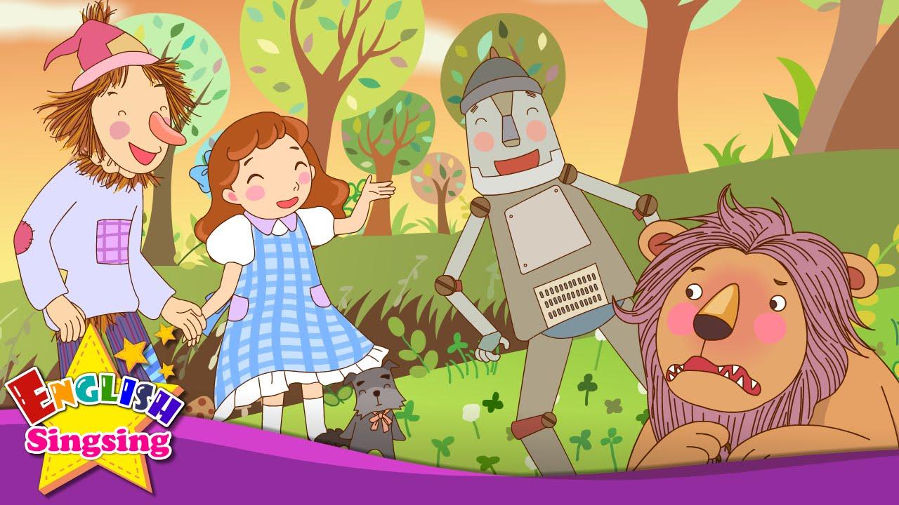 Resultado de imagen de The Wizard of Oz - Nice to meet you (Greeting) - English story for Kids