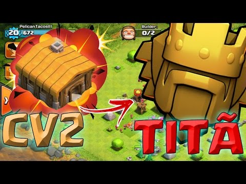CV2 NA LIGA TITÃ - RECORDE MUNDIAL - Clash Of Clans