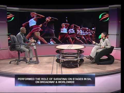 Mpho Maboi interviews actress Leleti Khumalo