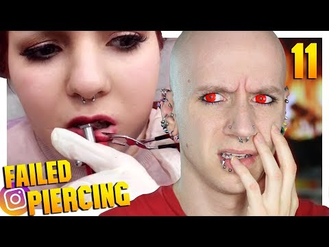 Reacting To Terrible Piercing Fails On Instagram | Piercings Gone Wrong 11 | Roly Reacts