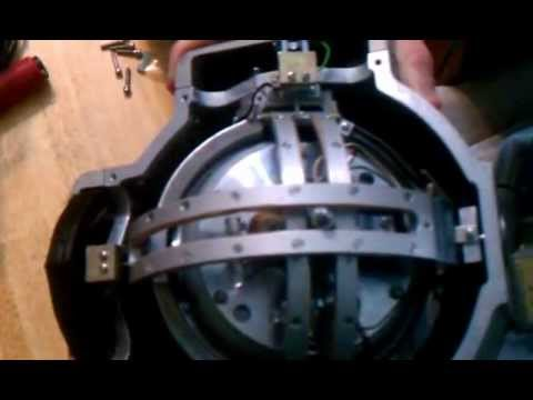 Old aircraft gyroscope. - YouTube