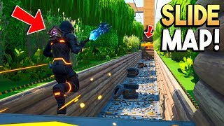 FORTNITE SLIDE MAP! - Fortnite Creative (Nederlands)