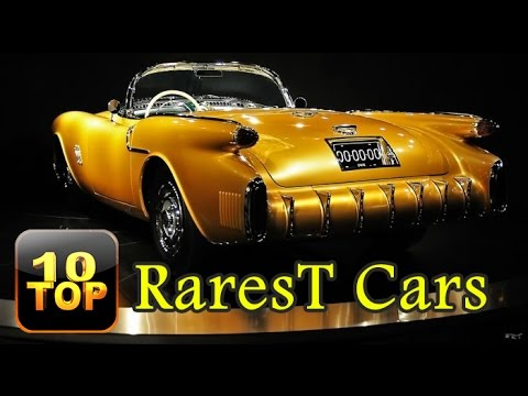 Top 10 Rarest Cars Youve Probably Never Heard Of