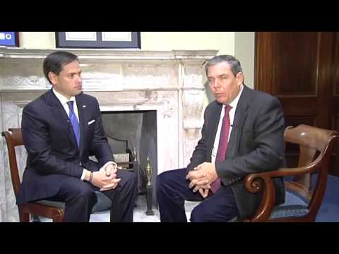Juan Manuel Cao cara a cara con el Senador Marco Rubio  - América TeVé