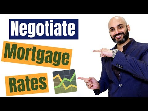 Can I negotiate mortgage rates and how to get the best rates