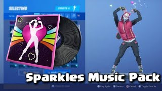 Fortnite - Sparkles Music Pack with Glitter emote!