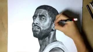 Kyrie Irving ~ Time-lapse Drawing