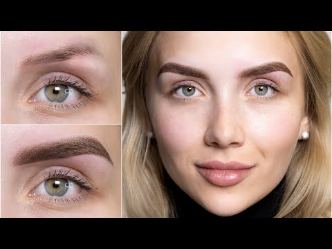 Ombre Brows Eyebrows Permanent Make Up
