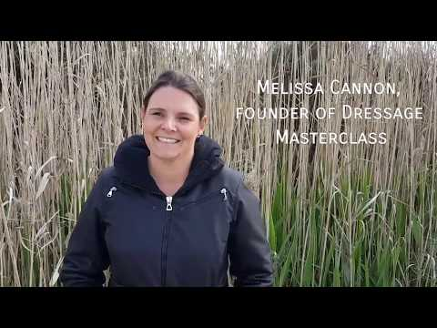 Interview with Dressage Masterclass founder Melissa Cannon