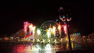 2018 2019 New Year& 39 s Eve Countdown at Disney California Adventure World of Color Lite