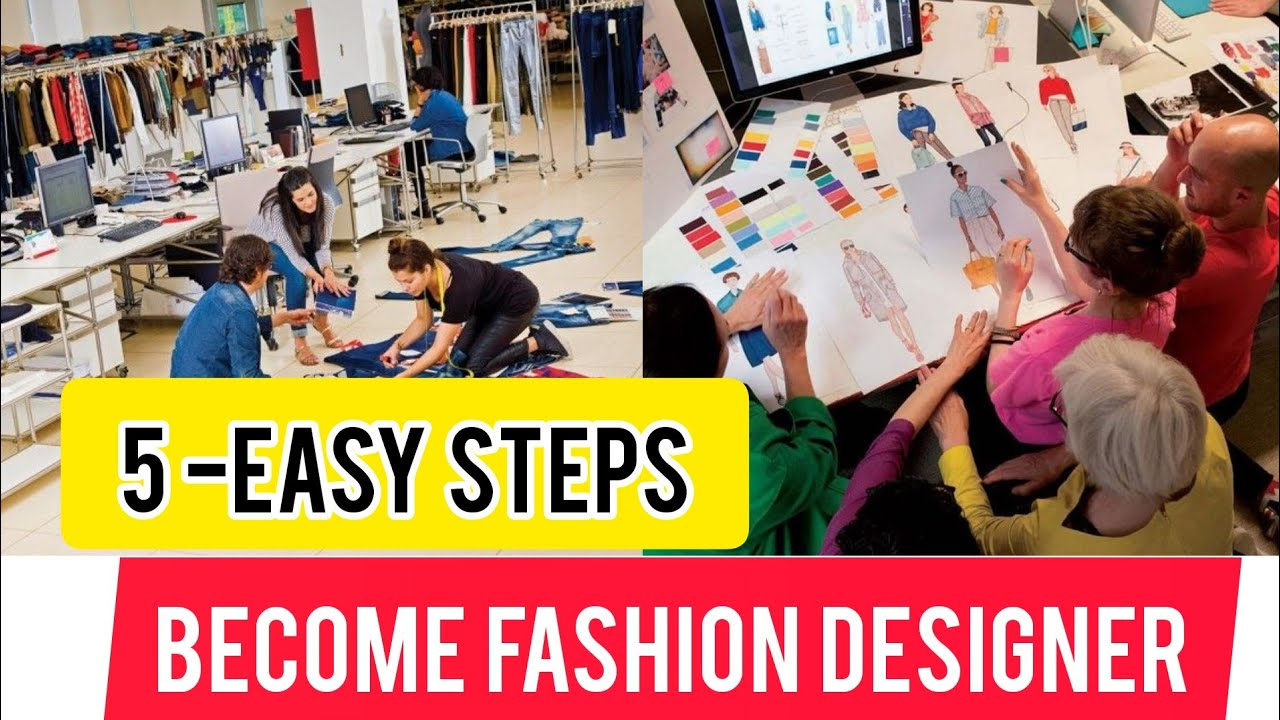 Free Online Fashion Designing 5 Easy Steps Become Fashion Designer Online Fashion Designing Youtube