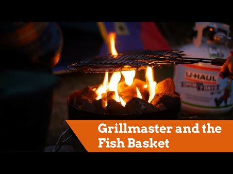 Grillmaster And The Fish Basket