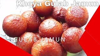 khoya gulab jamun   ख य ग ल ब ज म न क आस न र स प   soft and mouth watering sweets recipe