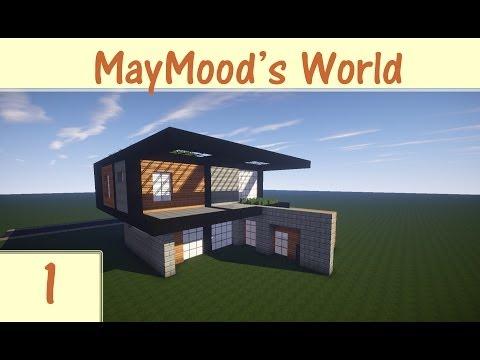 كيف تبني بيت خورافي في ماين كرافت