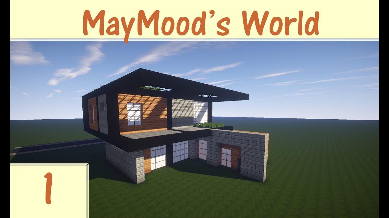 كيف نبني بيت في ماين كرافت