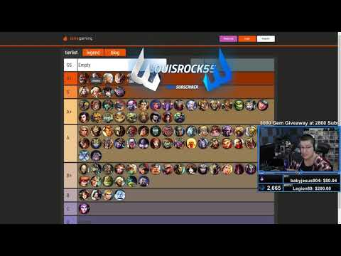UPDATED WORLDS TIER LIST! Correcting Ex Caster's list and going over why its WRONG - Smite