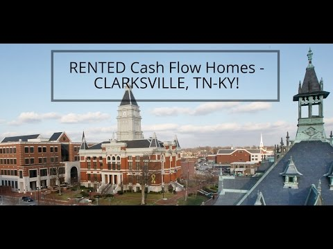 RENTED Cash Flow Homes – CLARKSVILLE, TN-KY!