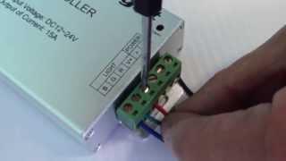 Подключение светодиодной ленты RGB www.ginrus.ru