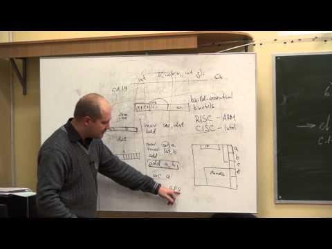 Лекция 3 | Архитектура ЭВМ и основы ОС | Кирилл Кринкин | CSC | Лекториум