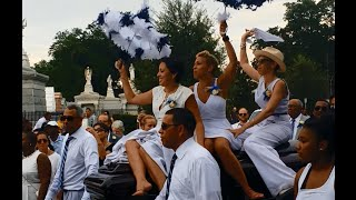 The Original Royal Players perform in funeral second line for
