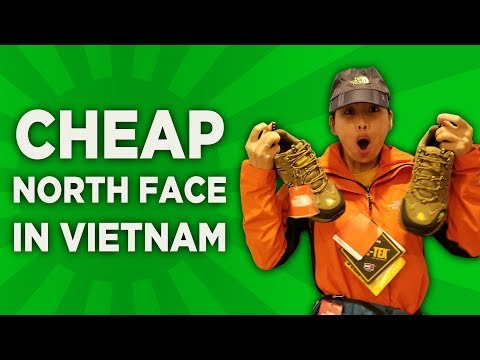 Cheap North Face Bargain Shopping In Vietnam