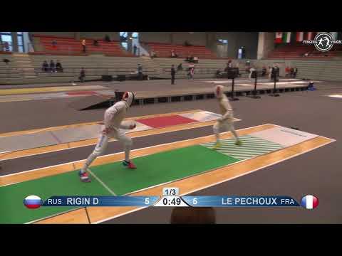 2018 138 T64 25 M F Individual Bonn GER WC GREEN LE PECHOUX FRA vs RIGIN RUS