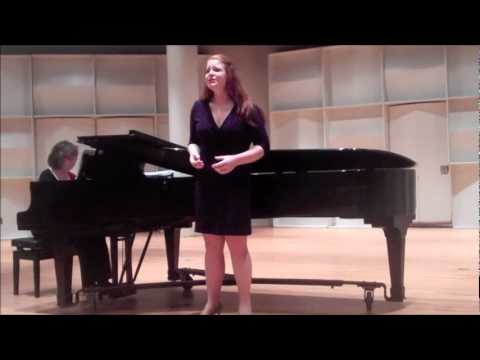 Stephanie Gray singing The Lullaby; The Consul
