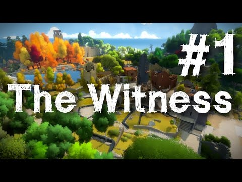 The Witness Gameplay Walkthrough Part 1 Puzzle Guide Let's Play Review 1080p HD PS4 PC