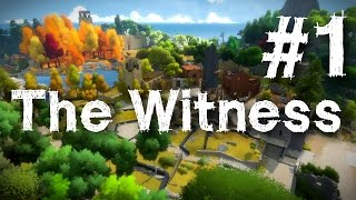 The Witness Gameplay Walkthrough Part 1 Puzzle Guide Let