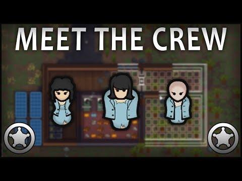 MEETING THE CREW - Rimworld #1