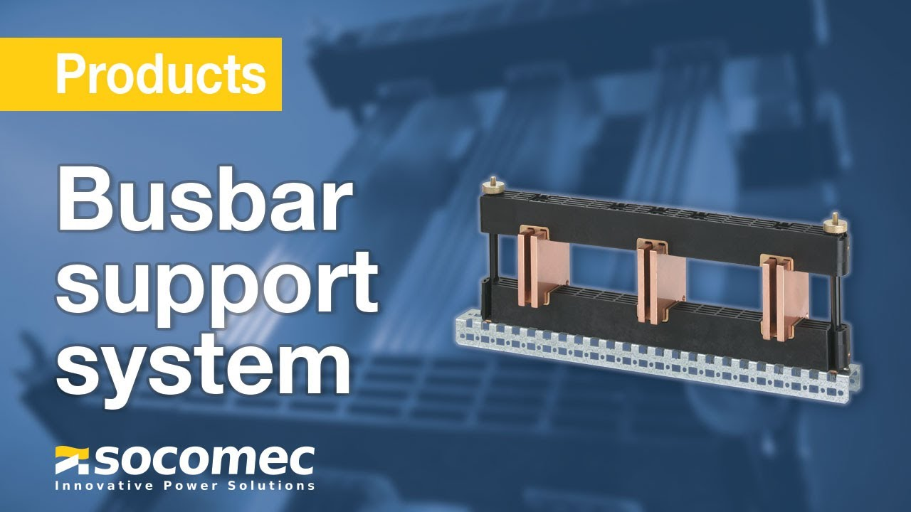 Sb C 15 A Busbar Support System Adapted To Your Needs Youtube Terminal Block Wiring Board