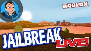 Playing Roblox Jailbreak LIVE with Discord Peoplez!! Roblox Jail Break is better with friends. :)