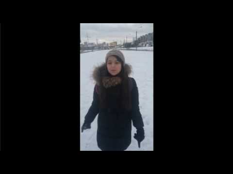 Изображение предпросмотра прочтения – ОфелияМамедова читает произведение «Зимнее утро» А.С.Пушкина