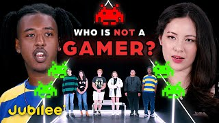 5 Gamers vs 1 Fake Gamer