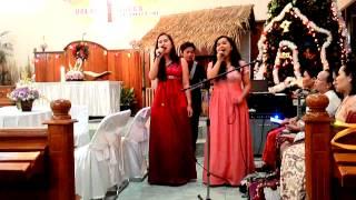 Andaikan ku harus harus memilih Cover by Reland Vergamos ft. Stella Permata S & Murni Flower S