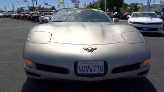 2002 Chevrolet Corvette Redding, Eureka, Red Bluff, Chico, Sacramento, CA 25105046