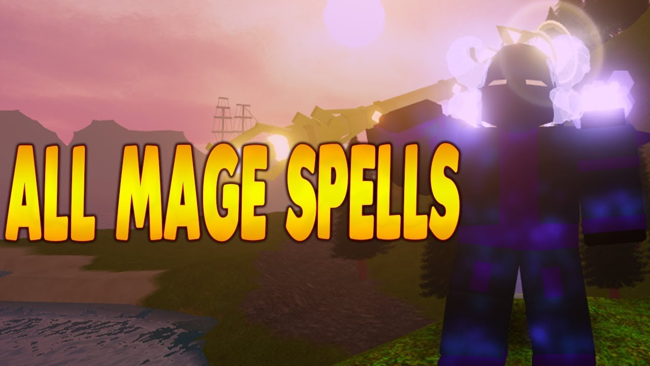 All New Mage Spells In Dungeon Quest Pirate Island Update Roblox Ibemaine Youtube