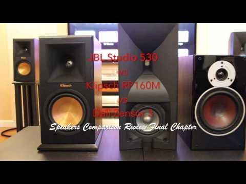 Klipsch RP-160M vs. JBL Studio 530 vs. Dali Zensor 3 Final Chapter