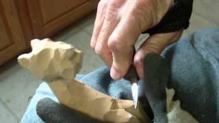 Whittling The Animal Shelf Sitters Part 3